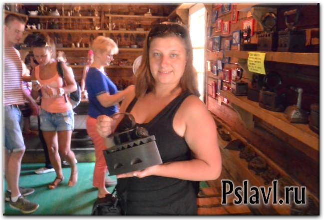 музей утюга переславль залесский селфи с утюгом